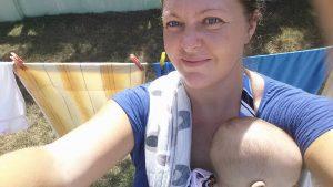 centrifugato di mamma fascia porta bebe' ad anelli