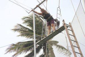 eh si ho provato anche il trapezio! ;)