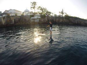 stand up paddling board a Playa Sosua