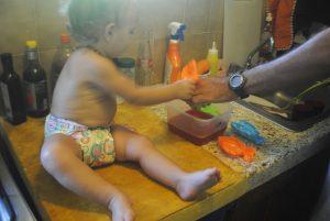 preparare la gelatina coi bambini