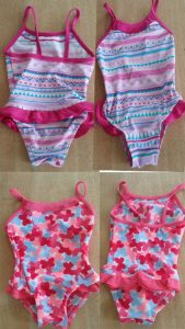 Costumi interi bimba toddler approved - Centrifugato di Mamma